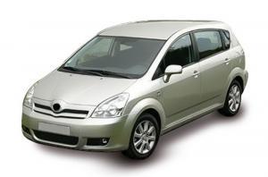 EVA коврики на Toyota Corolla Verso 2001 - 2004 (E110 левый руль)