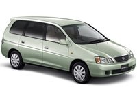 EVA коврики на Toyota Gaia (1998 - 2004) (првый руль)