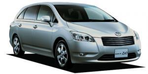EVA коврики на Toyota Mark X ZiO 2007-2013 (правый руль)