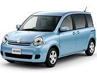 EVA коврики на Toyota Sienta I (2003-2015)
