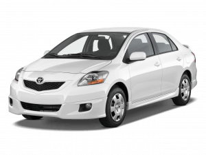 EVA коврики на Toyota Yaris (P2) (седан) 2005 - 2010