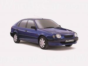 EVA коврики на Toyota Corolla (E110) 1997 - 2001 (правый руль)