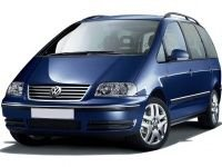 EVA коврики на Volkswagen Sharan (7 мест) 1995 - 2010
