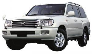 EVA коврики на Toyota Land Cruiser 100 1998 - 2007