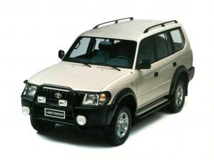 EVA коврики на Toyota Land Cruiser  Prado 90 1996 - 2003 (правый руль)