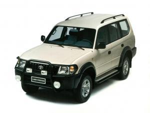 EVA коврики на Toyota Land Cruiser  Prado 90 1996 - 2002