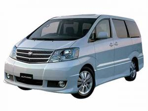 EVA коврики на Toyota Alphard 2002-2008 I поколение (