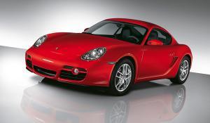 EVA коврики на Porsche Cayman I (987) 2005-2012