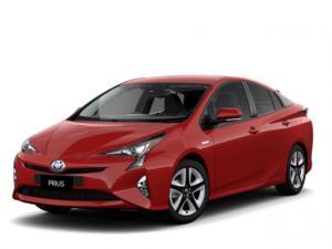 EVA коврики на Toyota Prius (NHW50) 2015 - наст. время
