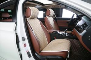 Накидки на сидения автомобиля из алькантары